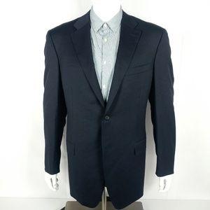Canali Mens Blazer Sport Coat Size 44-45 L US Wool